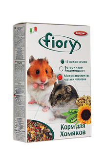 Criceti, корм для хомяков / fiory (Италия)