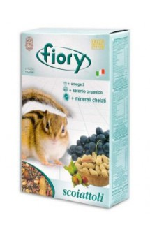 Scoiatoli, корм для белок / fiory (Италия)