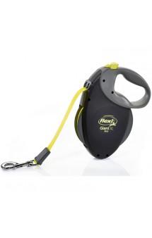 GIANT Neon XL, рулетка для собак от 50 кг / flexi (Германия)