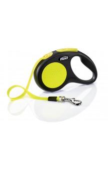 New Neon Tape, рулетка для собак, лента / flexi (Германия)