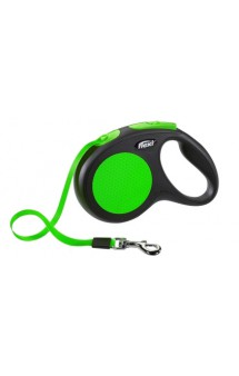 Limited Edition New Neon Promo Tape, рулетка для собак, лента / flexi (Германия)