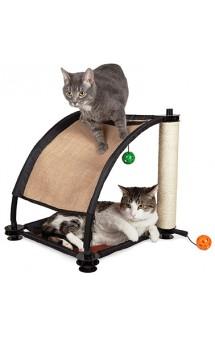 Игровой комплекс с когтеточкой для кошек: Белая гора. Climbing Hill / Kitty City (США)