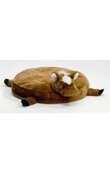 Подушка для кошек с головой лошади, коричневая / I.P.T.S. (Нидерланды)