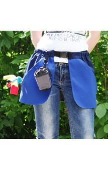 Сумка-юбка дрессировщика с карманами для лакомства, игрушек, фризби / OSSO Fashion (Россия)