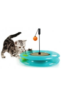 Swat Track and Scratcher, Поле чудес, игрушка для кошек / Kitty City (США)