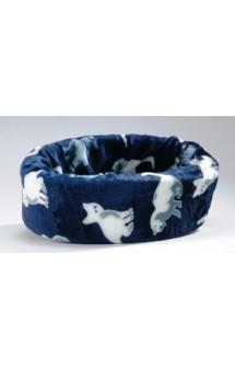 Лежанка для кошек Pussy круглая голубая / I.P.T.S. (Нидерланды)