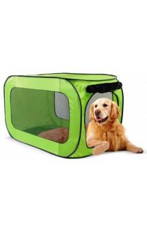 Portable dog kennel large, переносной домик для собак крупных пород / Kitty City (США)