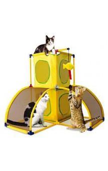 Игровой комплекс для кошек: Версаль. Kitty Play Palace / Kitty City (США)