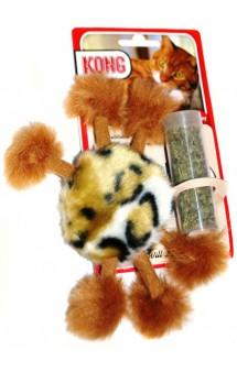 Игрушка для кошек Пушистый помпон / KONG (США)