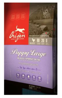 ORIJEN PUPPY LARGE,корм для щенков крупных пород / Champion Petfoods (Канада)
