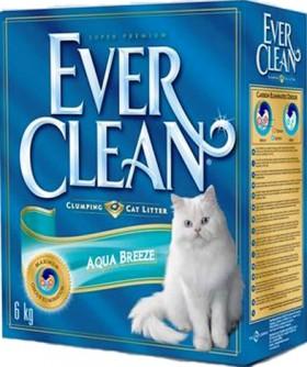 Aqua Breeze,комкующийся наполнитель с ароматом Морского бриза / EVER CLEAN (США)