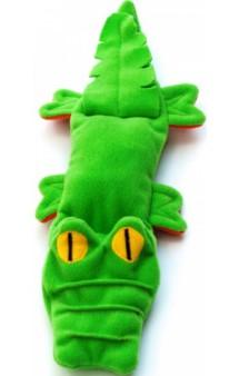 Игрушка для собак из флиса «Крокодил» с неубиваемой пищалкой / OSSO Fashion (Россия)
