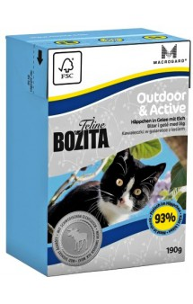 Bozita Feline Funktion Outdoor & Active / Bozita (Швеция)