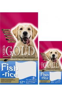 Adult Fish and Rice 24/13, корм для собак, на основе Рыбы / Nero Gold (Нидерланды)