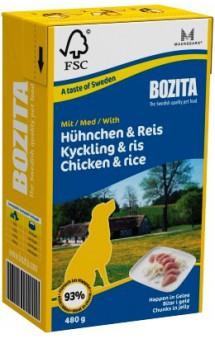 Chunks in jelly with Chicken & Rice / BOZITA (Швеция)