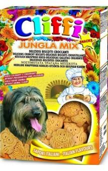 Хрустящее печенье для собак Jungla Mix / Cliffi (Италия)