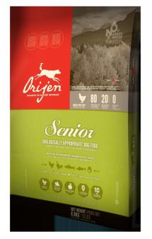 ORIJEN SENIOR DOG,корм для пожилых собак / Champion Petfoods (Канада)