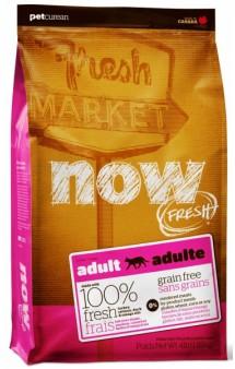 NOW Fresh Grain Free Adult Turkey, беззерновой корм для кошек с Индейкой, Уткой, Лососем и овощами / Petcurean (Канада)