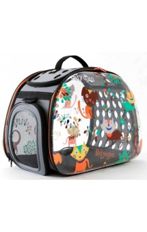 Складная сумка-переноска,дизайн Cats & Dogs / Ibiyaya (Китай)