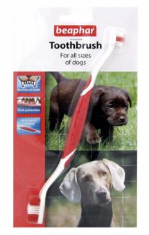 Toothbrush,зубная щетка для собак / Beaphar (Нидерланды)