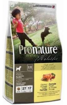 Pronature Holistic Chicken and Sweet Potato PUPPY / Pronature (Канада)