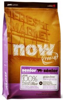 NOW FRESH Grain Free SENIOR, корм для пожилых кошек / Petcurean (Канада)