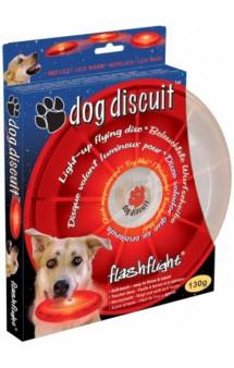 Светящийся  летающий диск  Dog Discuit / Nite Ize (США)