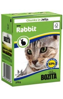 Bozita Chunks in Jelly with Rabbit / BOZITA (Швеция)