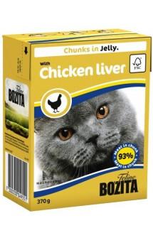 Bozita Chunks in Jelly with Chicken Liver / BOZITA (Швеция)