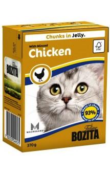 Bozita Chunks in Jelly with Minced Chicken / BOZITA (Швеция)