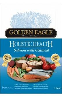 Golden Eagle Holistic Salmon & Oatmeal Formula 22/12,корм для собак с Лососем и Овсянкой / Golden Eagle Petfoods Co.Ltd (Великобритания)Golden Eagle Holistic Salmon & Oatmeal Formula 22/12