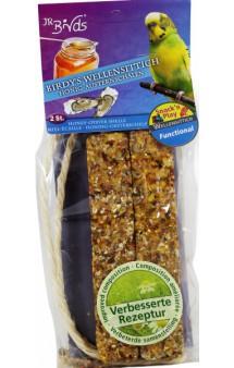 Палочки для волнистых попугаев с медом и раковинами устриц / JR FARM (Германия)
