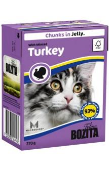 Bozita Chunks in Jelly with Minced Turkey / BOZITA (Швеция)