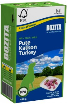 Chunks in jelly with Turkey / BOZITA (Швеция)