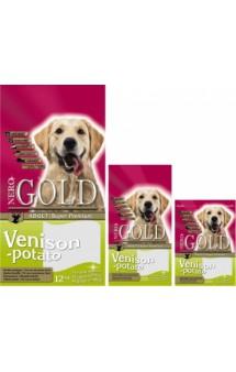 Adult Venison and Potato, корм для собак с Олениной и Картофелем / Nero Gold (Нидерланды)
