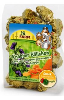Лакомство для грызунов  Шарики из люцерны и моркови / JR FARM (Германия)