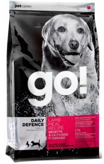 GO! Daily Defence LAMB, корм для собак c Ягненком / Petcurean (Канада)