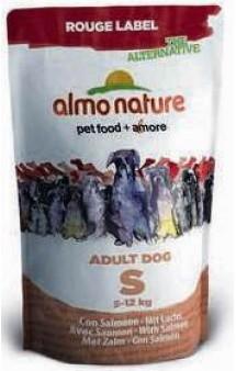 Rouge label The Alternative Small&Salmon / Almo Nature (Италия)