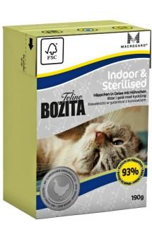 Bozita Feline Funktion Indoor & Sterilised / Bozita (Швеция)