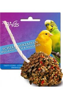 Лакомая шишка для волнистых попугаев и канареек / JR FARM (Германия)