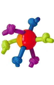 Игрушка для щенков Мячик с канатами / Petstages (США)