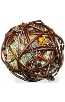 Лакомство для грызунов Ивовый шар с сеном и календулой / JR FARM (Германия)