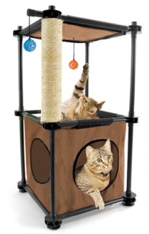 Игровой комплекс с когтеточкой для кошек: Биг Бен. Tower / Kitty City (США)